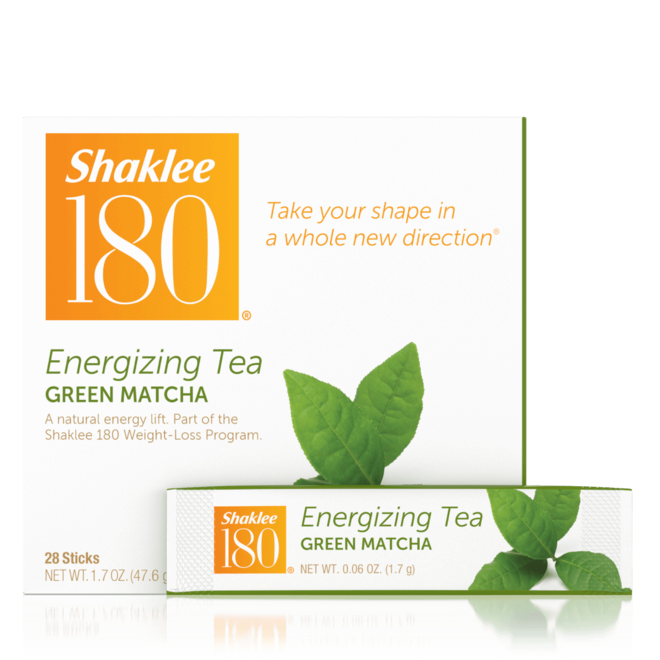 Shaklee 180 Energizing Tea Green Matcha