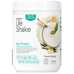 New & Improved Life Shake™ French Vanilla