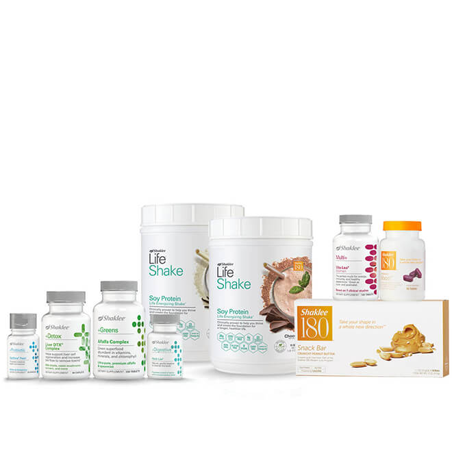 Healthy Cleanse and Weight Pack