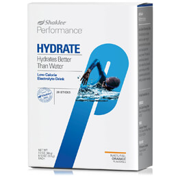 Performance Hydrate, Low-Calorie Electrolyte Drink Orange (stick)