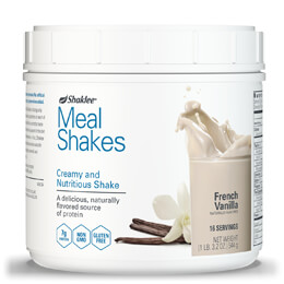 Shaklee® Meal Shakes French Vanilla - 16 servings