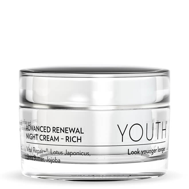 YOUTH® Advanced Renewal Night Cream, Rich
